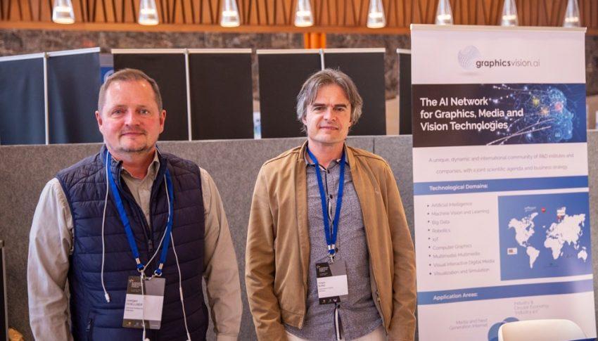 GraphicsVision.AI at European Robotics Forum 2020
